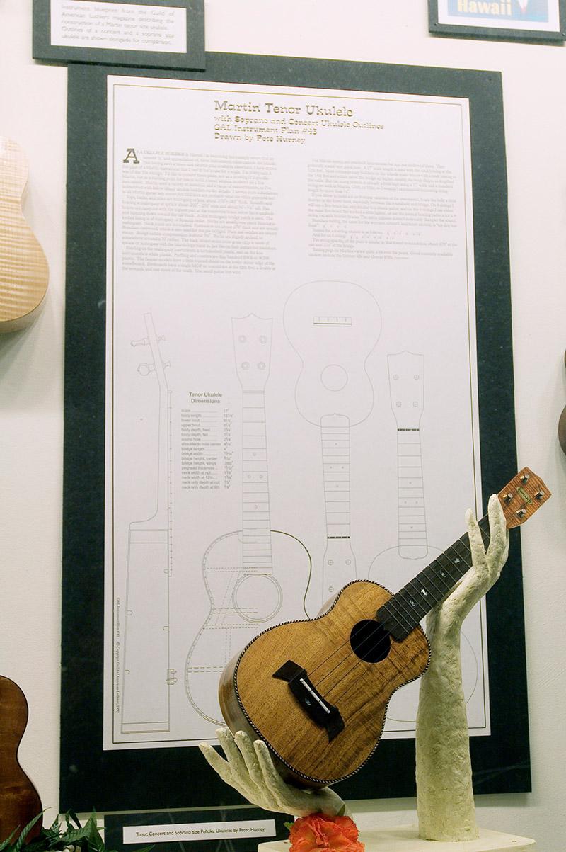 The tenor ukulele